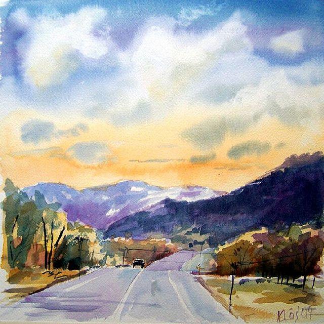 1000+ images about Watercolor Landscapes on Pinterest ...