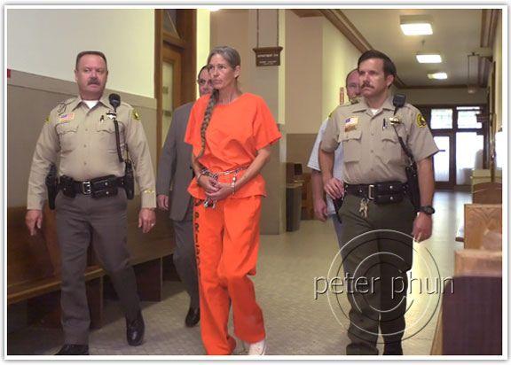 Prisoner Transport Chains Woman