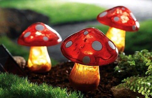 Mushroom Solar Lights