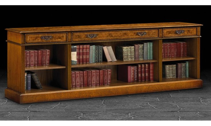Bookcase Long Low And