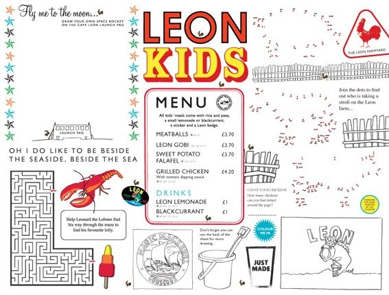 Restaurant Kid Menu Ideas
