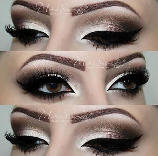 Bigger Brown Make Look Eyes