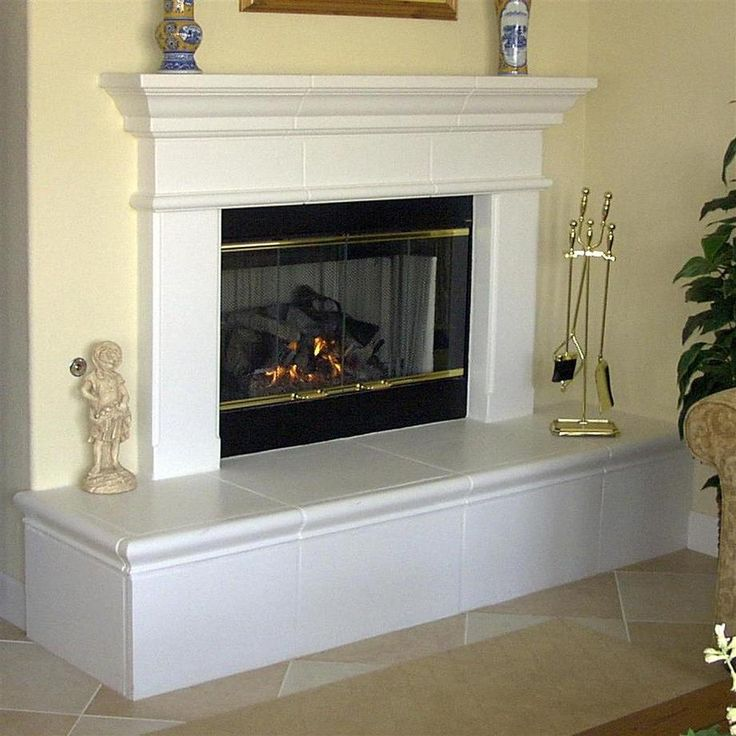 Fireplaces Finished Drywall