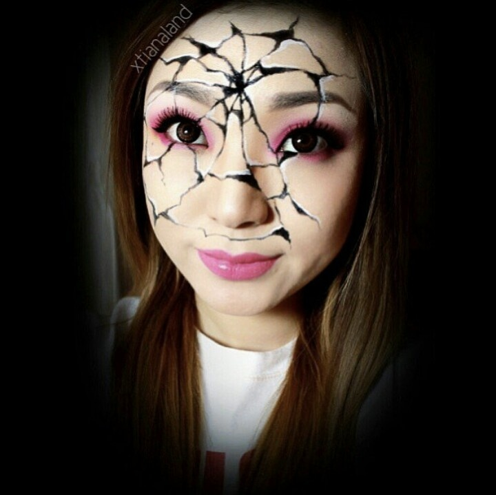 Baby Doll Halloween Face Paint