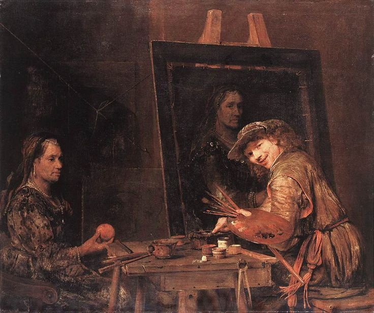 Easel And Oil Paintings Pinterest