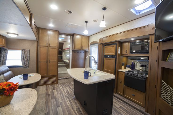Best Rear Kitchen 5th Wheel