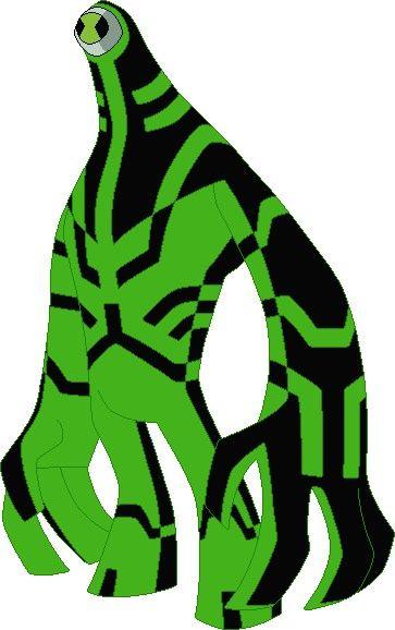 Ben 10 Alien Pixel Rock