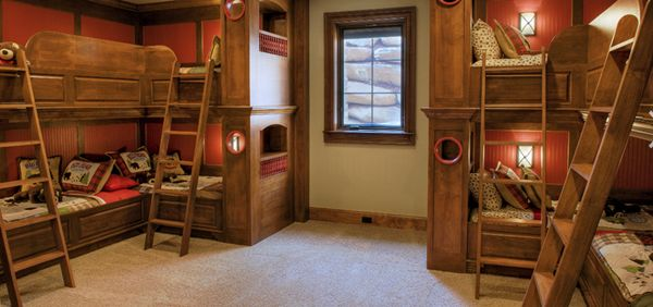 Gorgeous Tiny House Bump Beds For Kids الشقاوة والمرح فى