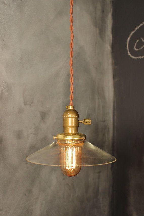Bare Light Bulb Pendant