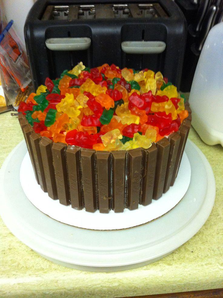 Gummy Bear Cake Cakes Pinterest Gummy Bears Cakes