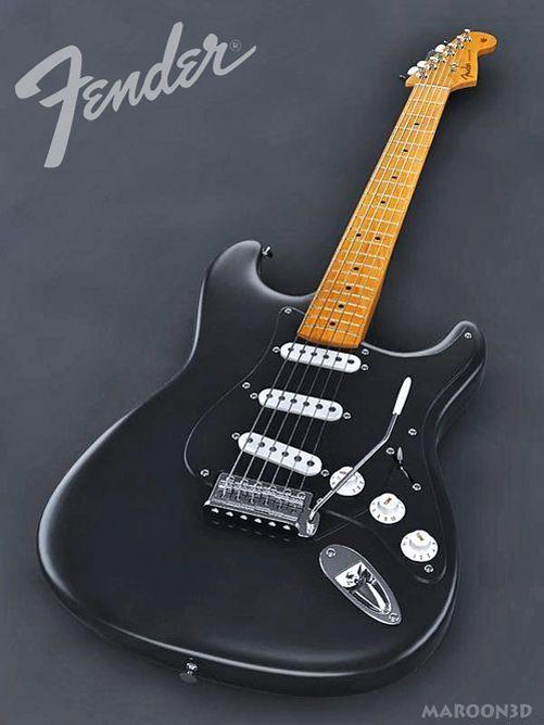 Gilmour Strat Black Rosewood