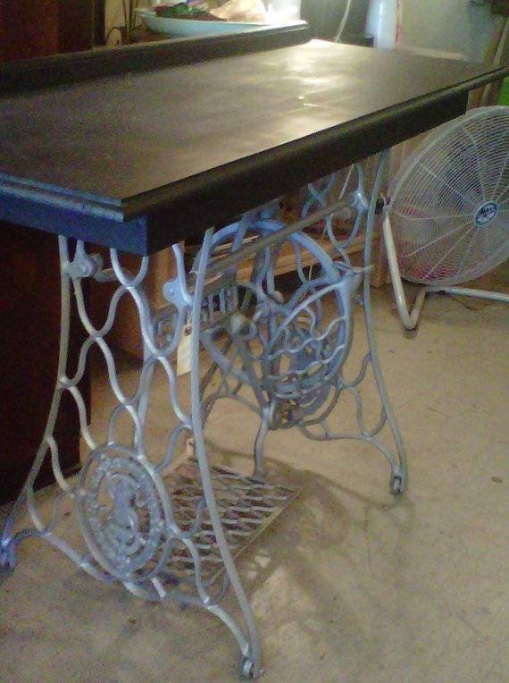 Antique Sewing Desk Singer