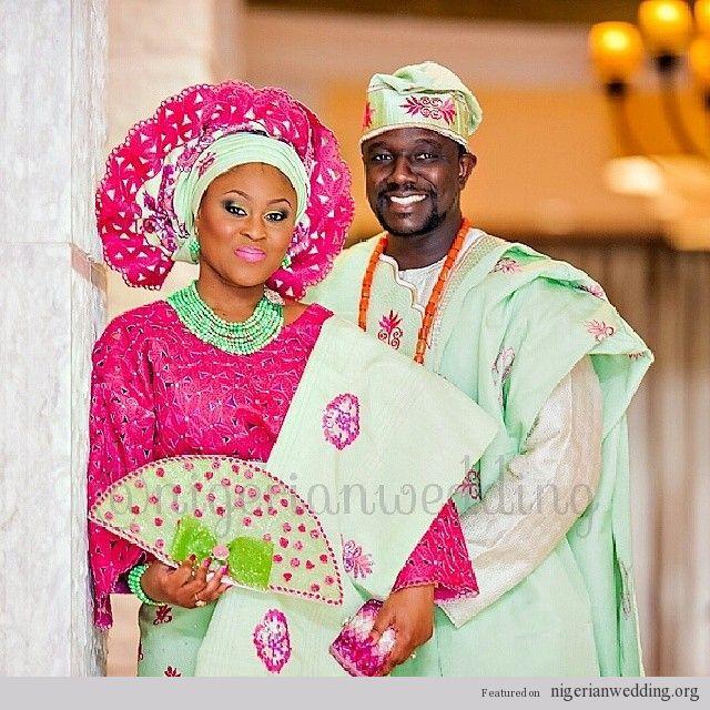 Traditional Wedding Attire Yoruba Land