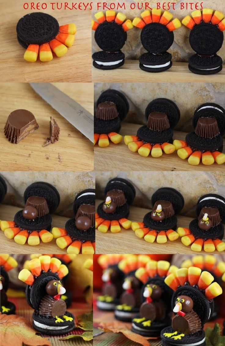 Pinterest Candy Corn Turkey