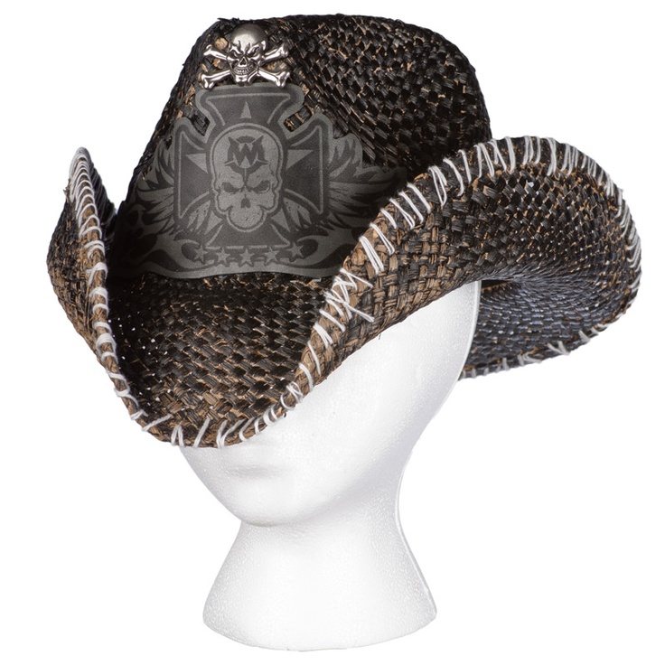 Hat Skull Outlaw Leather