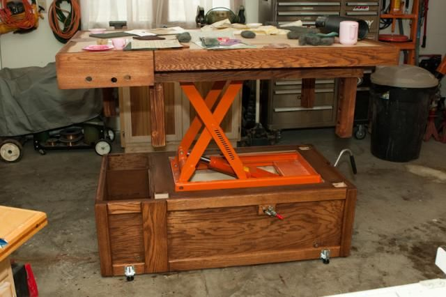 Very Interesting Adjustable Workbench Assembly Table