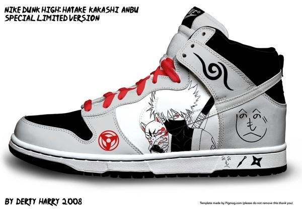 Kakashi Nike Shoes