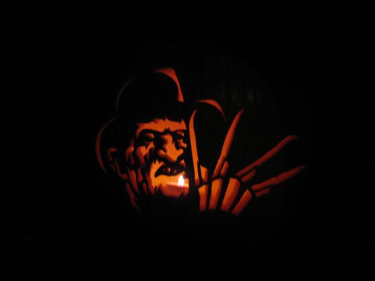 Crimson Ghost Pumpkin Stencils