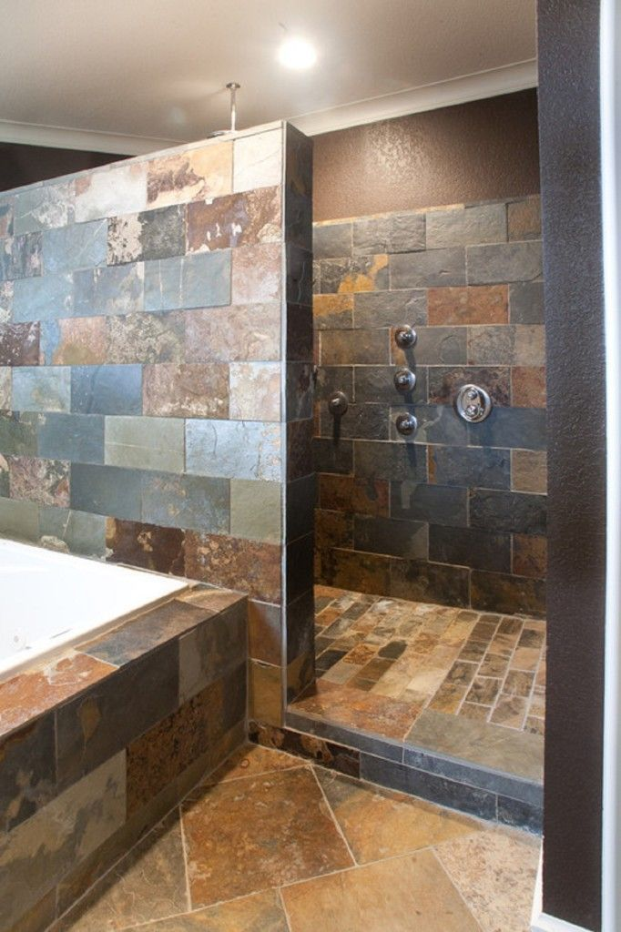 Without Doors Walk Shower Ideas