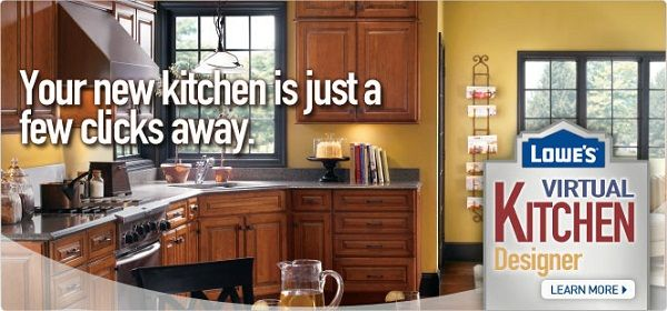 Lowes Canada Virtual Kitchen Designer