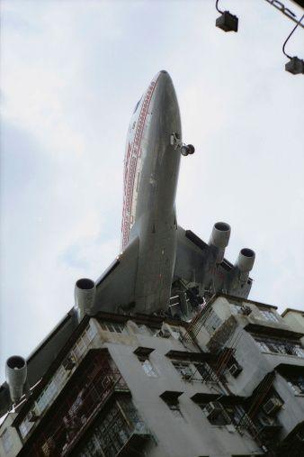 China Aircraft Final Approach
