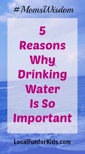 Water Important So Why