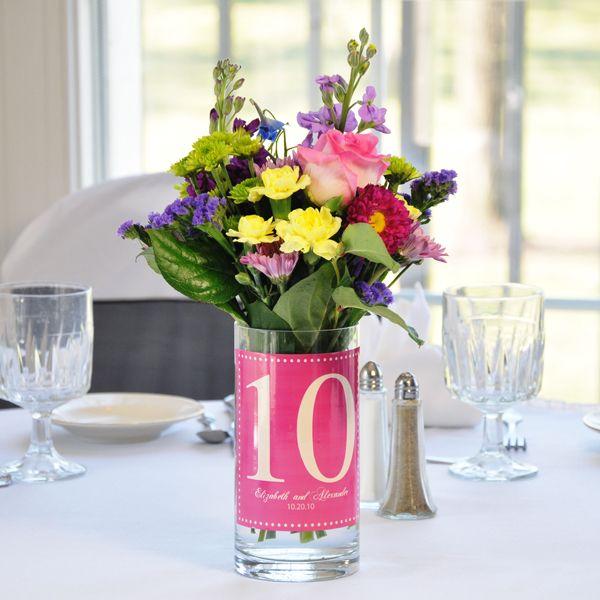 Creative Wedding Table Centerpieces