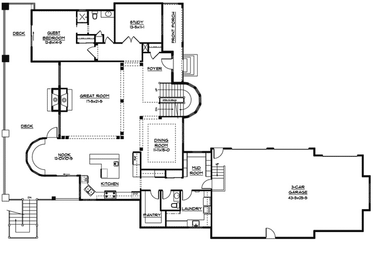 Kitchen Floor Plans Laundry