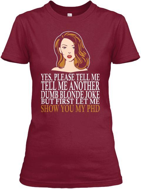 Blonde Jokes Tell Your Friends