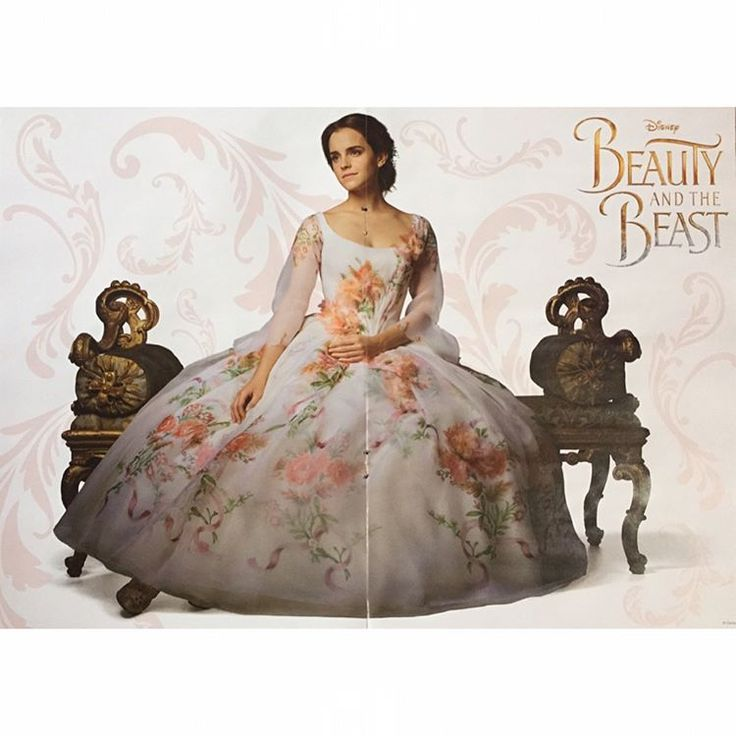 Beauty And Beast 2017 Dress White