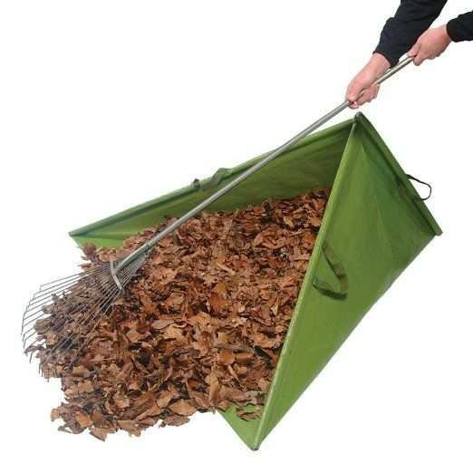 Fastest Way Rake And Bag Leaves