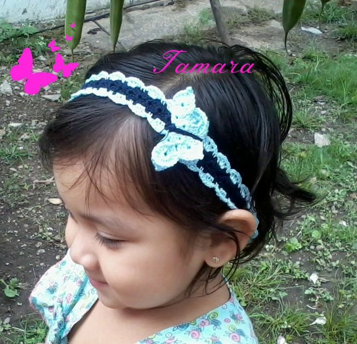 Girl Pinterest Flower Crochet Crafts Headband