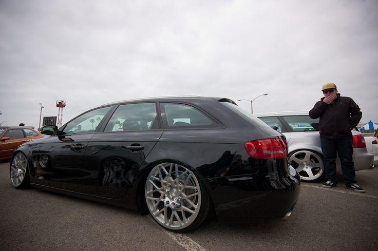 Avant Stance A4 B6 Audi Silver