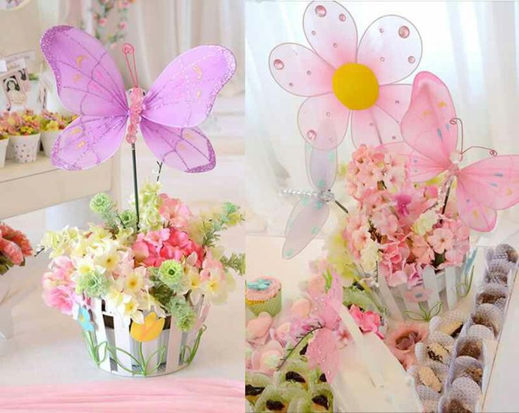 Butterfly Centerpieces Parties