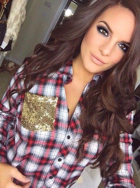 Brown Dress Pretty Hair