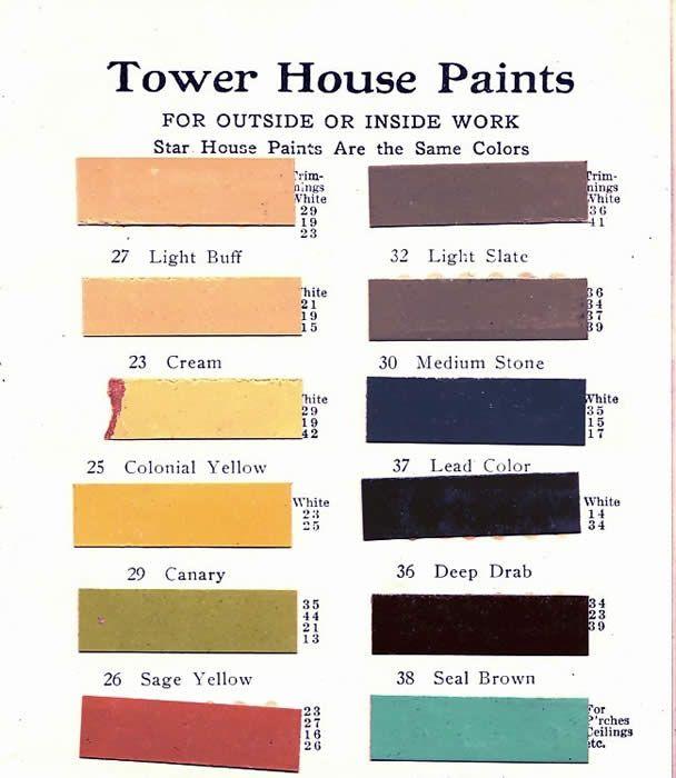 Paint Combos Exterior Craftsman