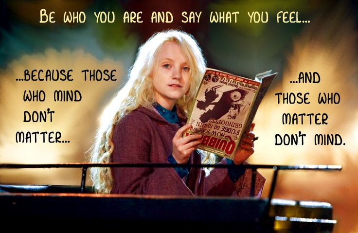 Potter Friendship Lovegood Luna Harry Quotes