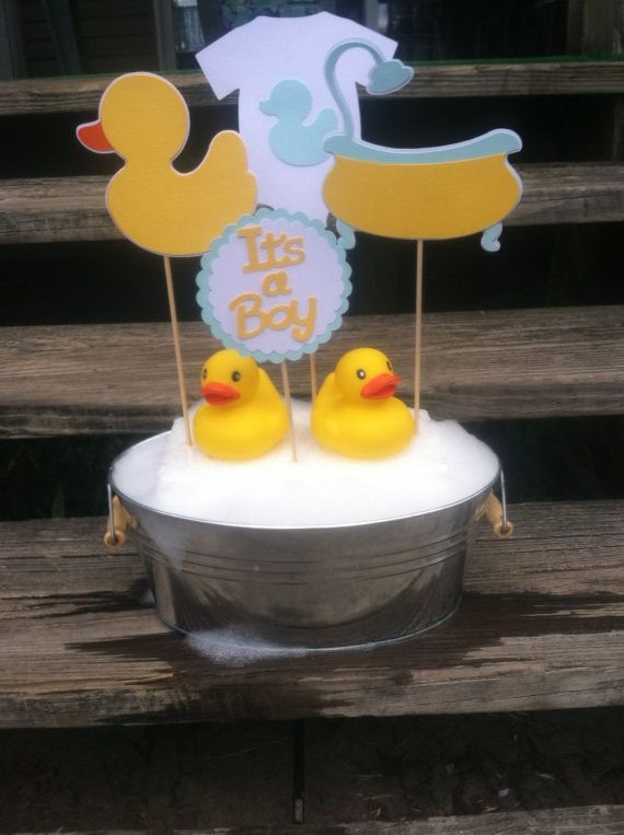 Baby Yellow Shower Decorations Duck