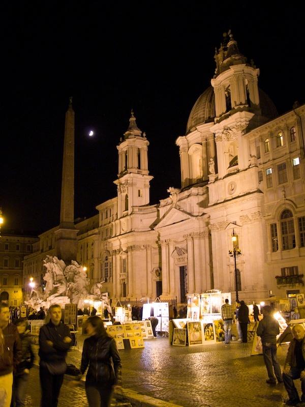 Agnes St Bernini Rome