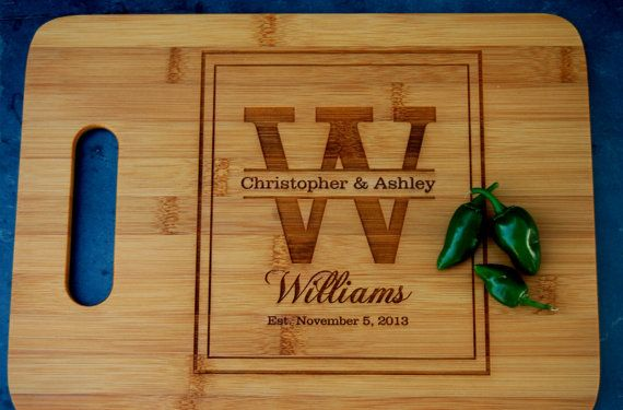 Win Cutting Christmas Board Personalized
