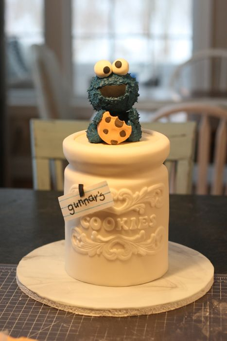 How To Make A Cookie Jar Cake Jars Cookie Jars And Monsters