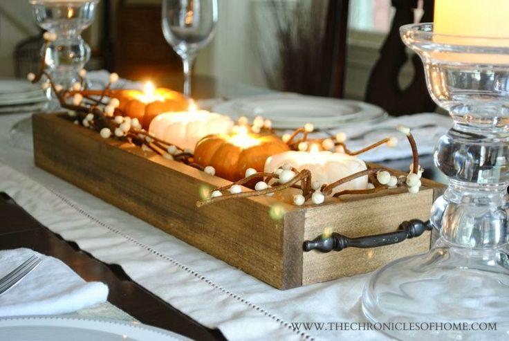 Fall Wedding Tables