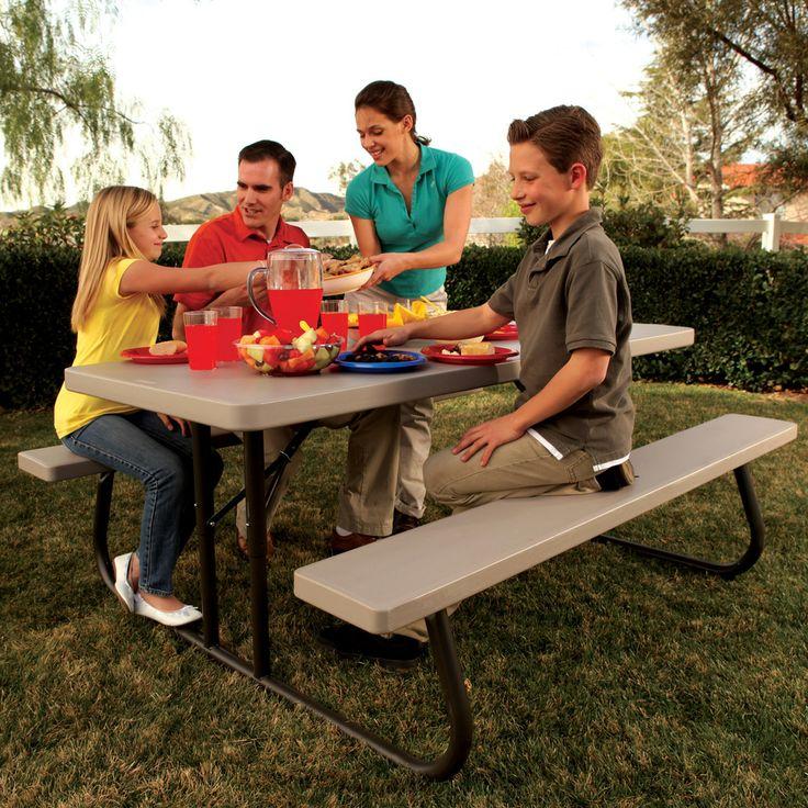 Costco Uk Lifetime 6ft 1 8m Folding Picnic Table 163 109