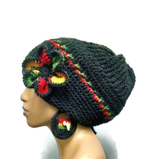Crochet Slouch Hat Pattern Bob Marley