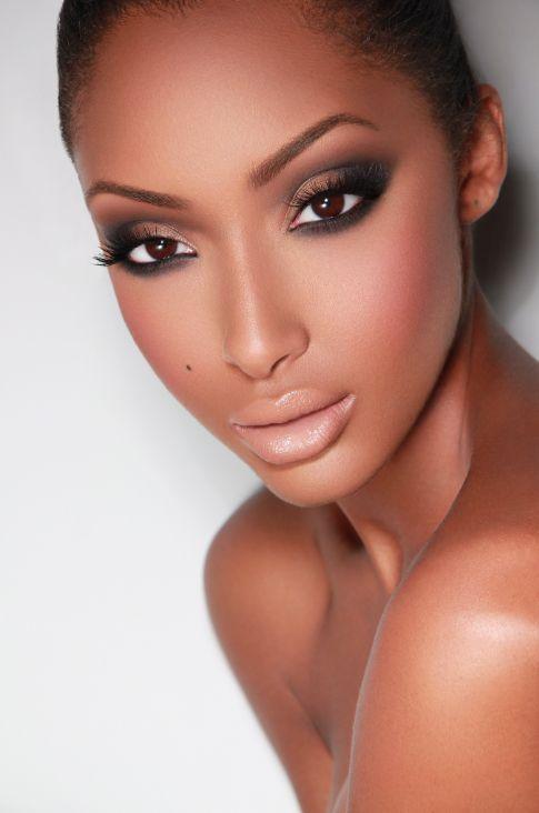Fresh Face Makeup Dark Skin