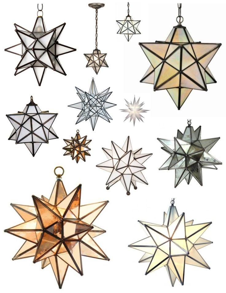 Moravian Star Light Fixtures