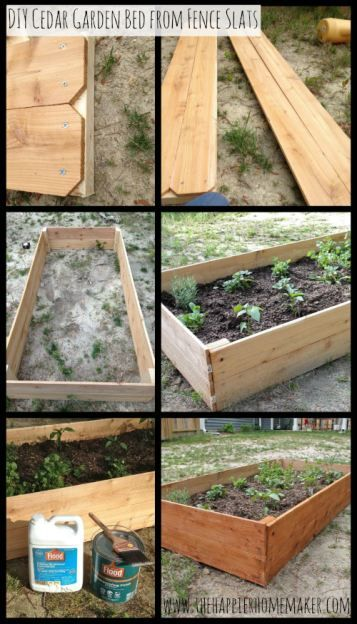 Building Raised Garden Planter