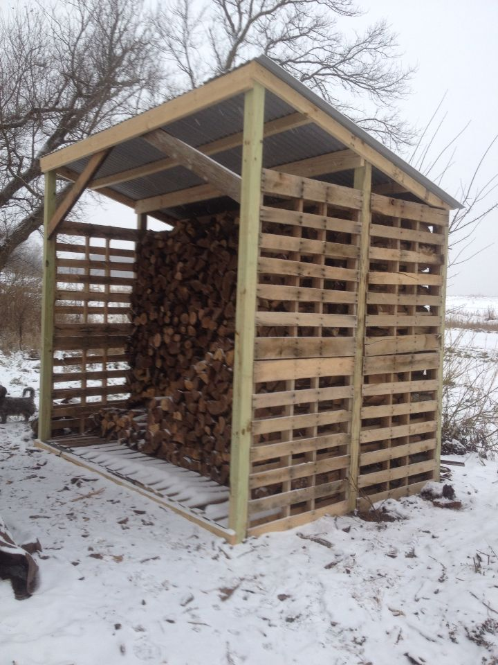 Wood Shed Blueprints