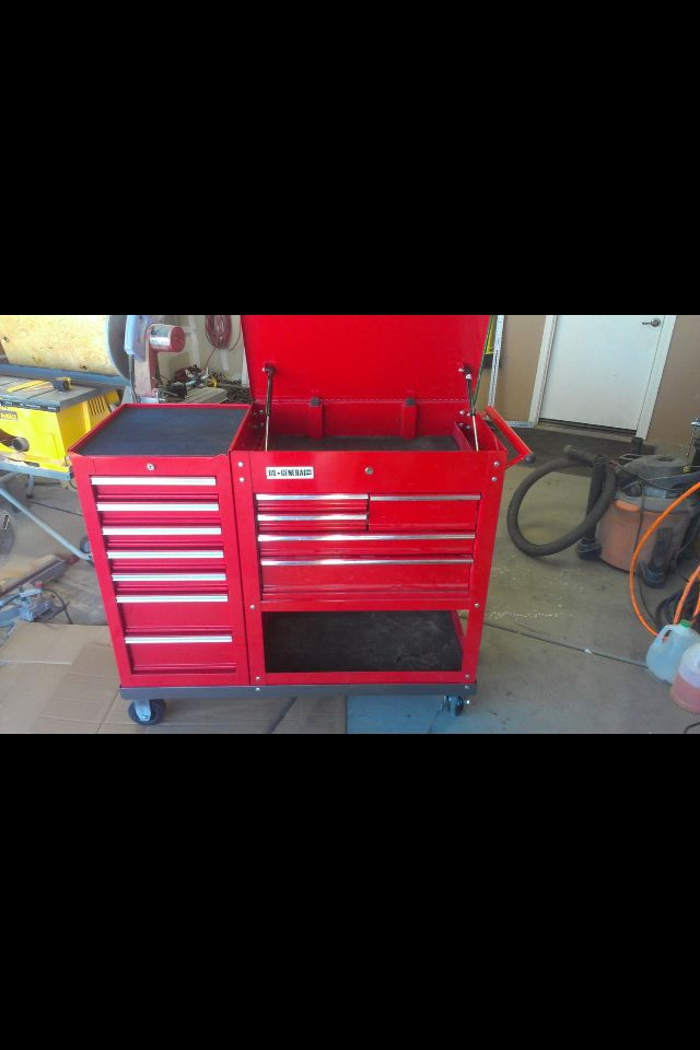Tool Harbor Freight General Cart Us