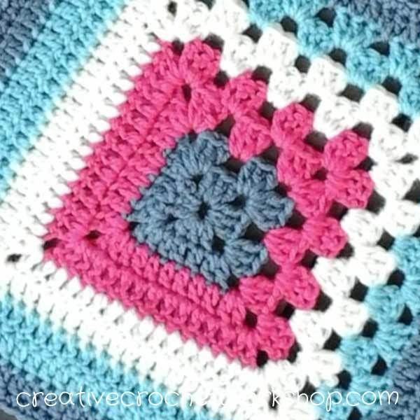 Knit Block Baby Blankets